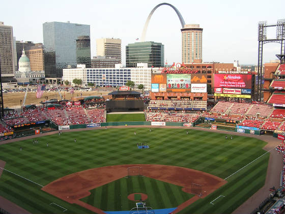 The New Busch Stadium - St. Louis Cardinals