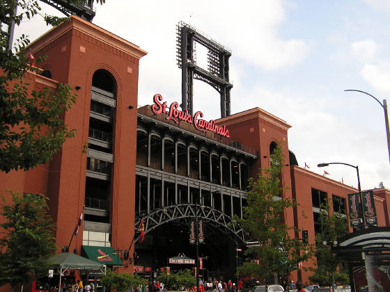 The new Home of the St. Louis Cardinals